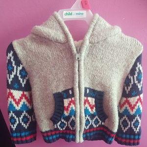 NWOT 12 Mos. Cat & Jack Infant Knit Sweater